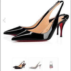 Christian Louboutin Claire Sling Back size 41